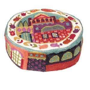 Embroidered Hat - Jerusalem Color