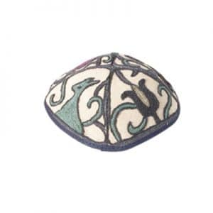 Hand Embroidered Hat - Nature Color