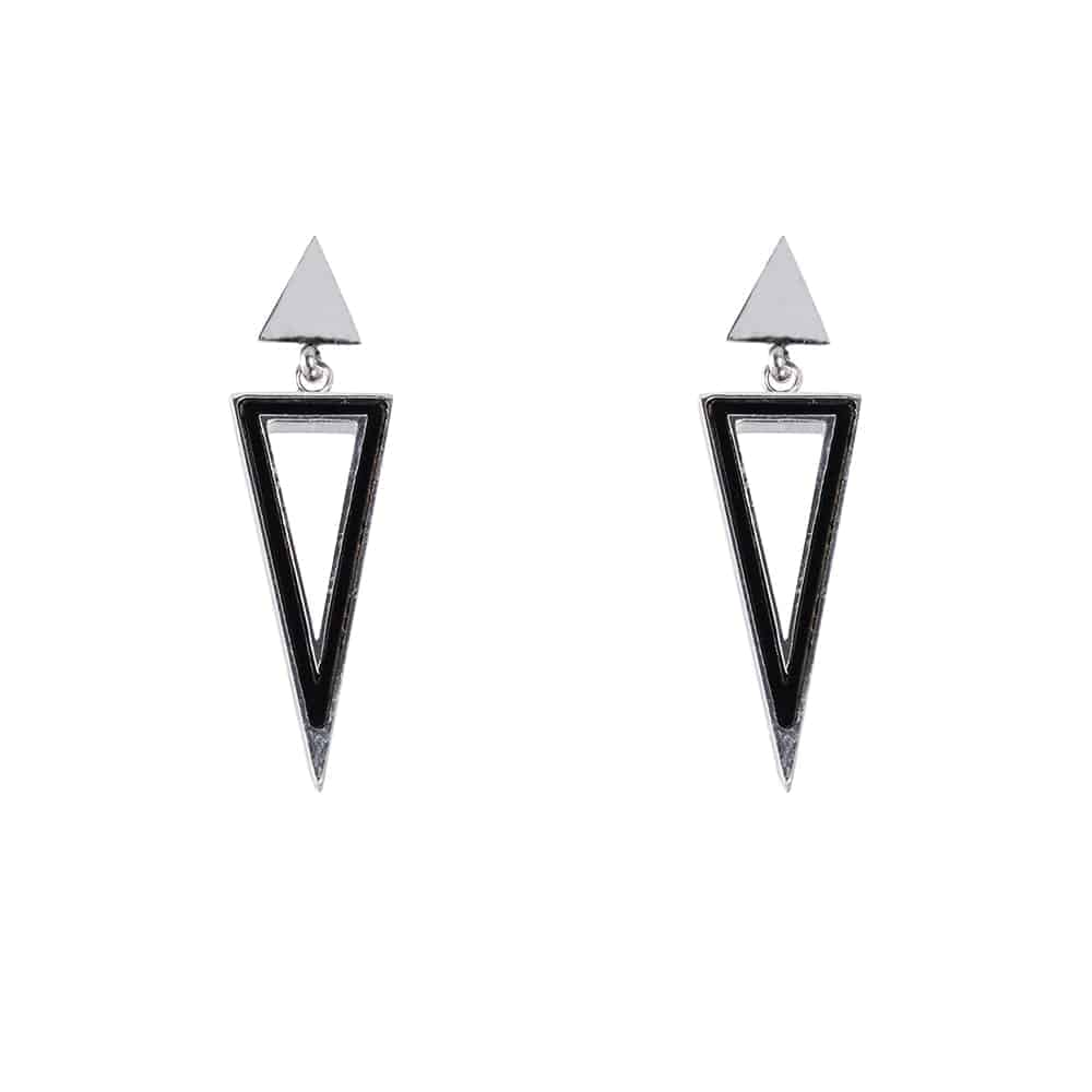 Hanging Triangle Earring