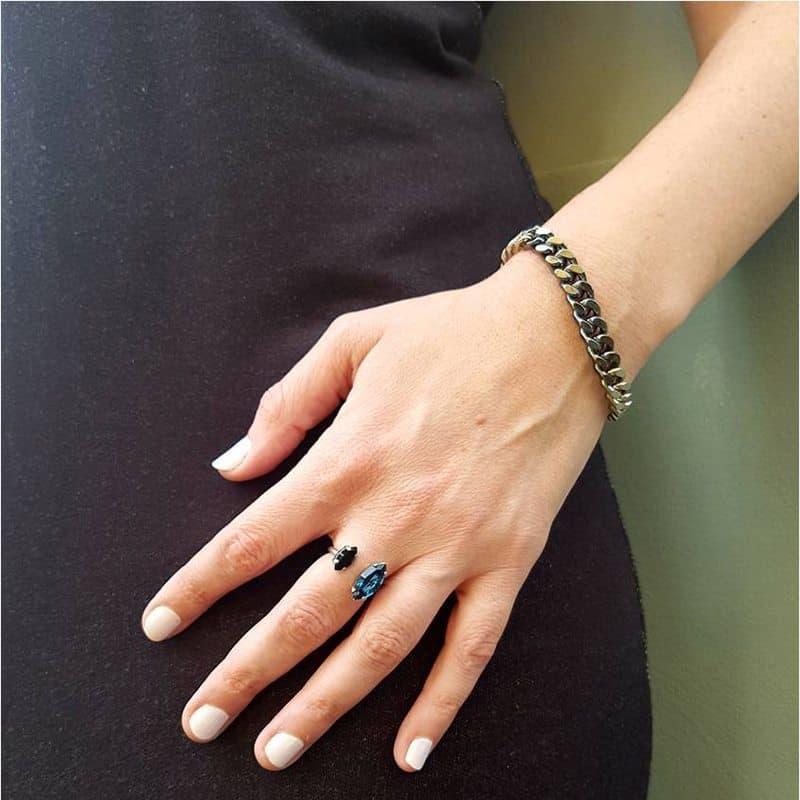 Integrated Gourmet Bracelet - Silver