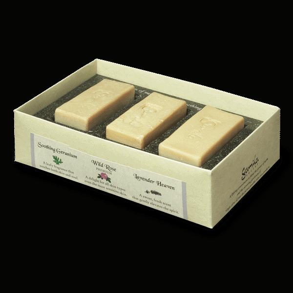 Lavender/Geranium/Spearmint - Cleansing Bars