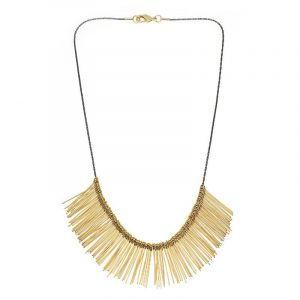 Short Pins Necklace - Gold
