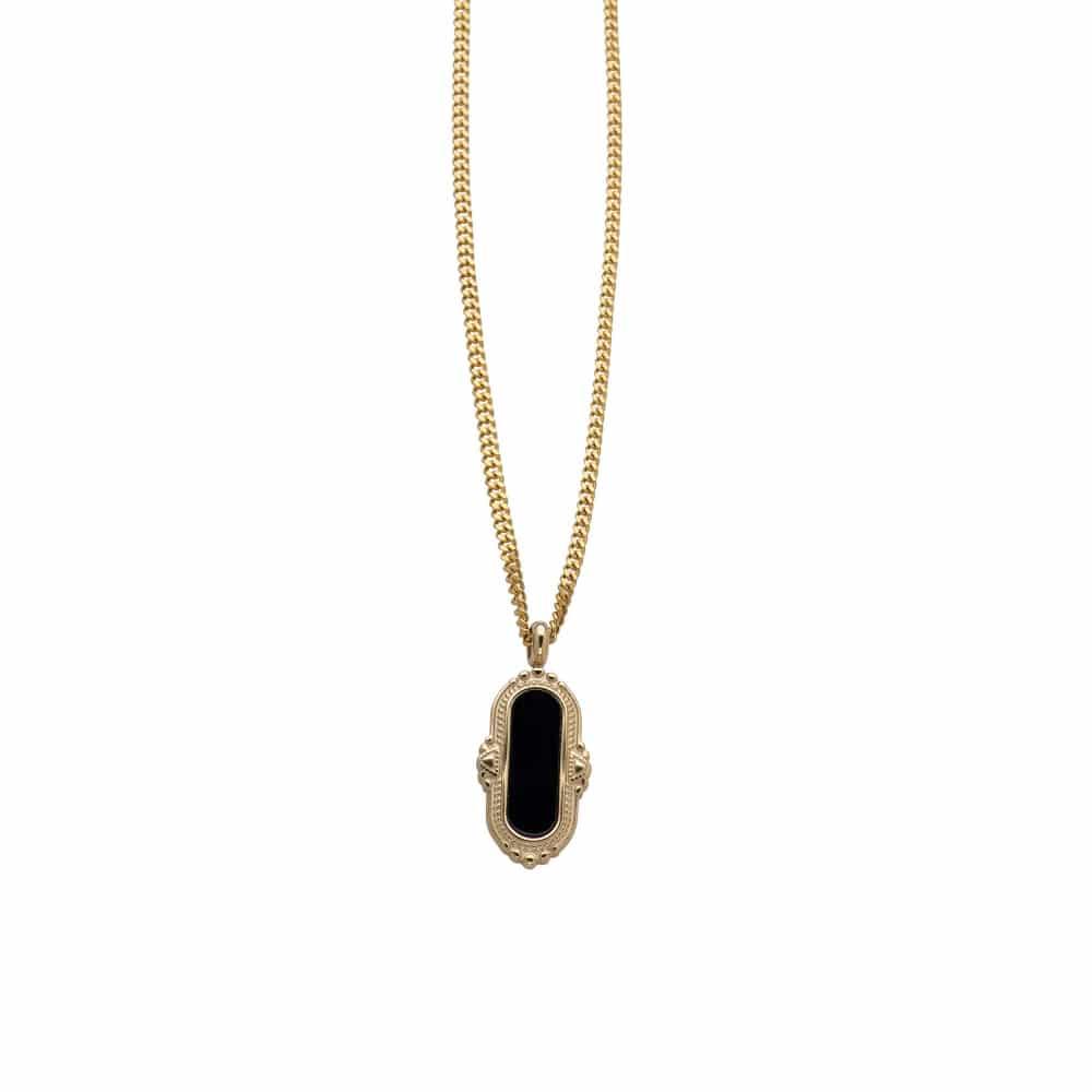 Collar Corto Vintage - Oro