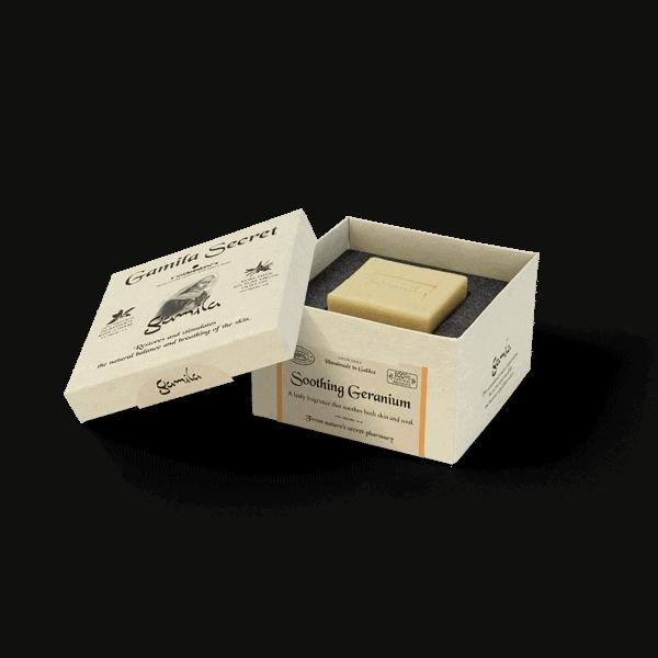 Geranio Calmante (Premium) - Barra de limpieza