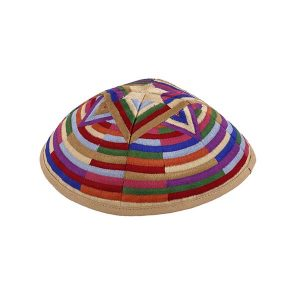 Star of David Kippah - Multicolored