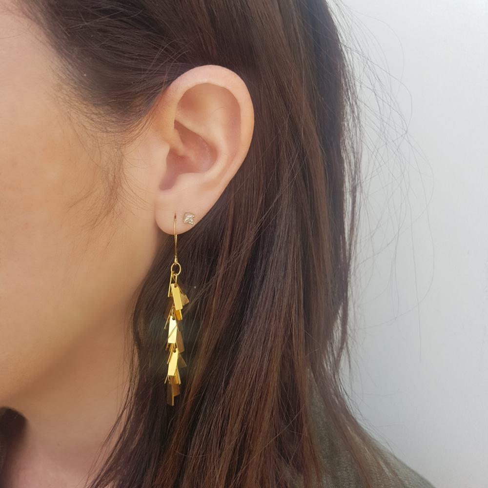 Wild Earrings - Gold