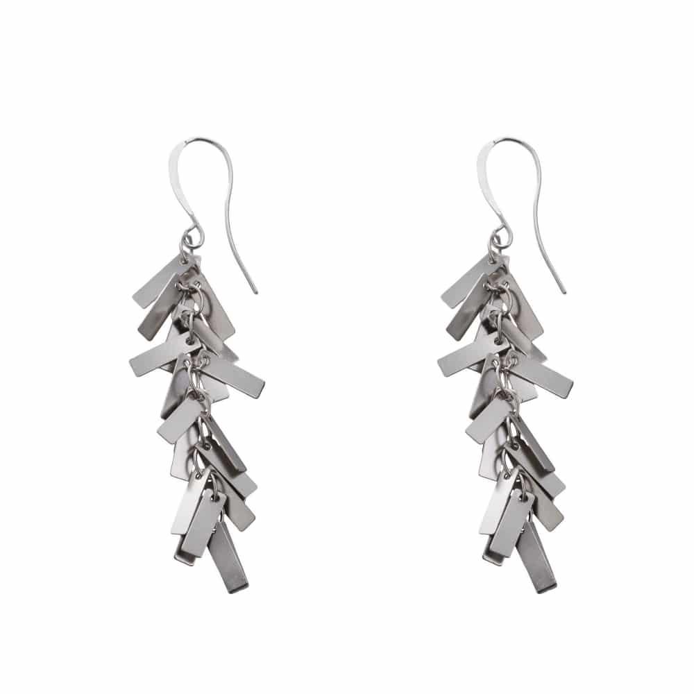 Wild Earrings - Silver