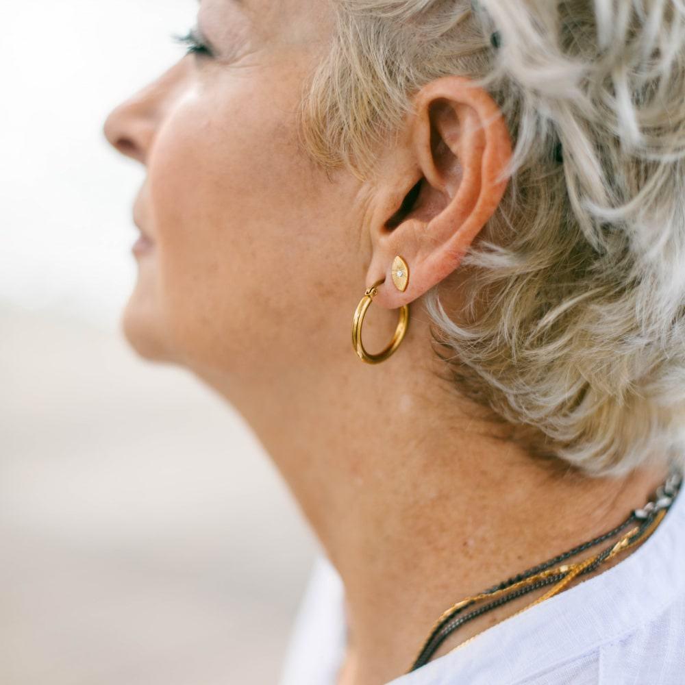 Hailey Earrings - Gold