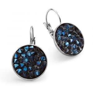 Blue Sparks Earrings