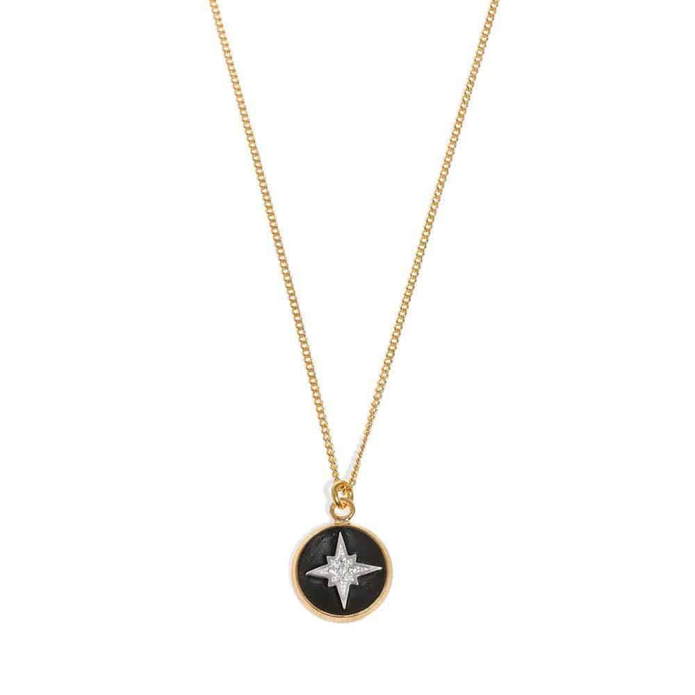 Spark Coin Necklace