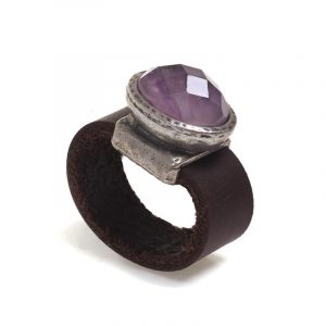 Ancient amethyst ring