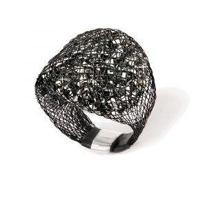 Silver Sparks ring