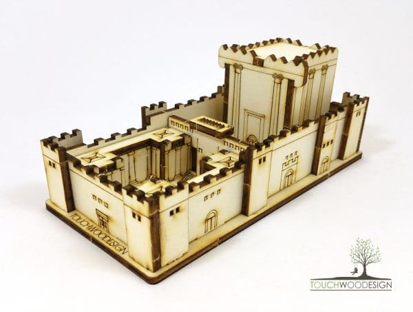 Second Temple Wood Model