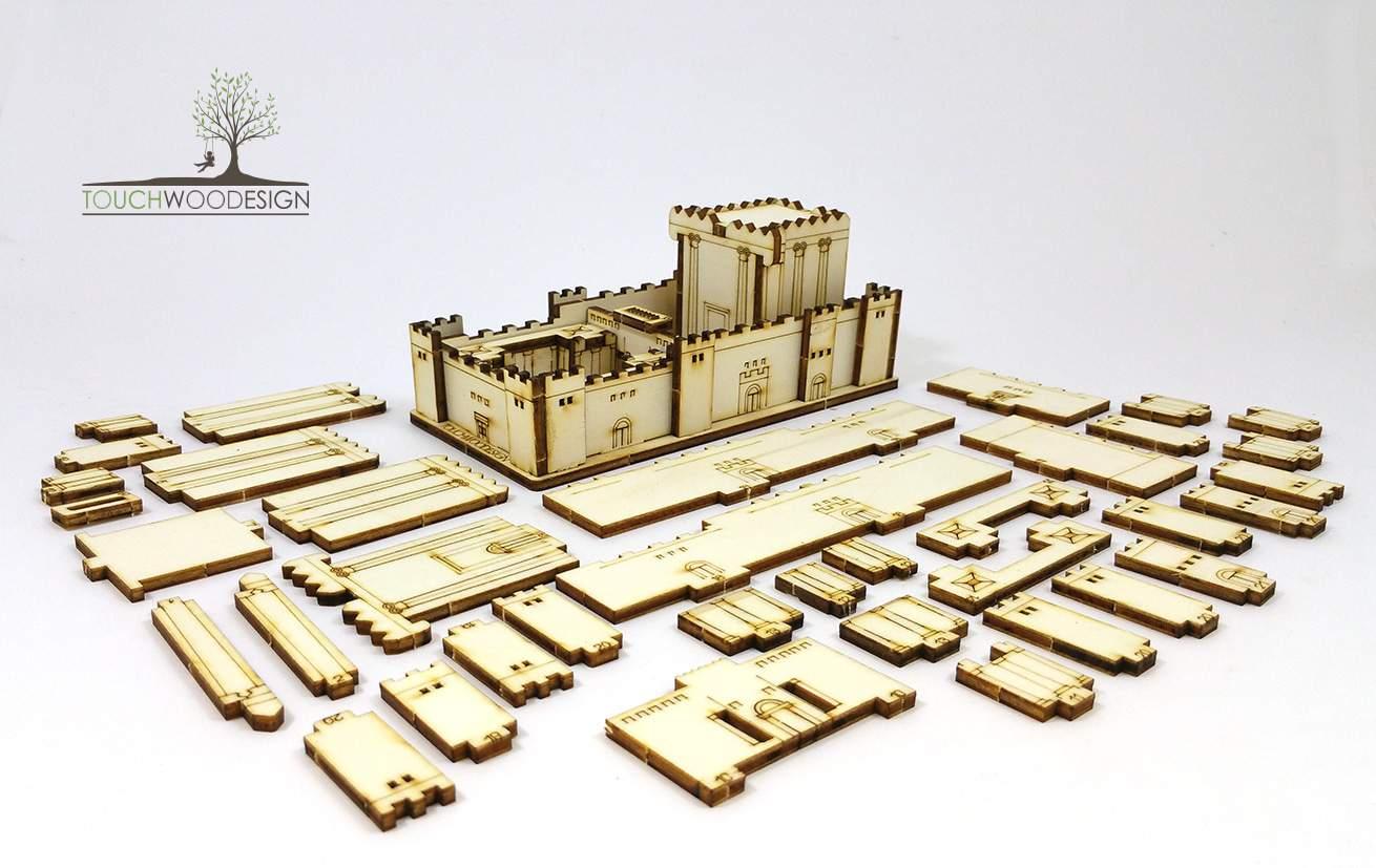 Kit de Bricolaje Cortado con Láser Del Segundo Templo de Jerusalén