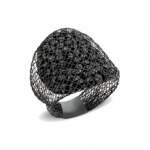 Black Sparks ring