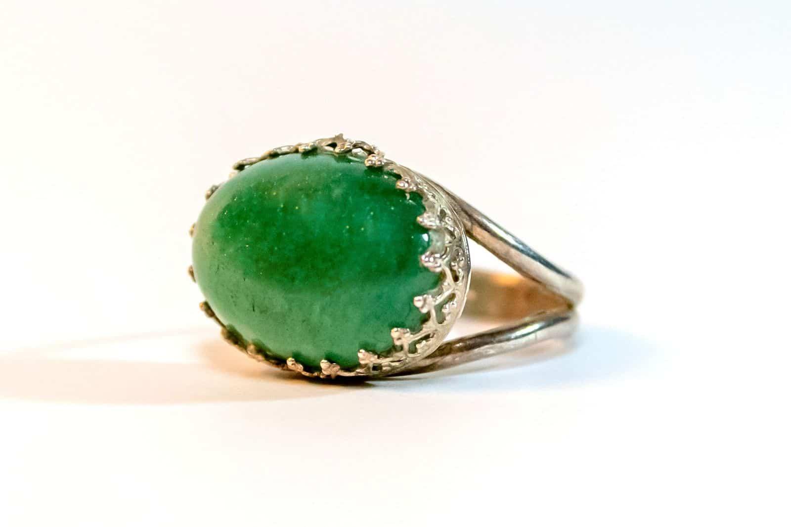 Green Emerald Goldfield - The Healing Stone