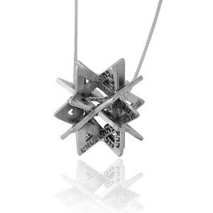 72 Names of G-D Secret Of Merkabah Pendant Kabbalah Jewelry