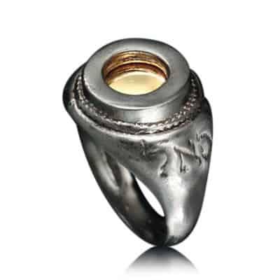 Eye Kabbalah Ring for Success & Prosperity