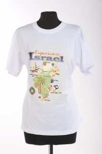 Holy Land T Shirts - experience Israel (S-XXL)