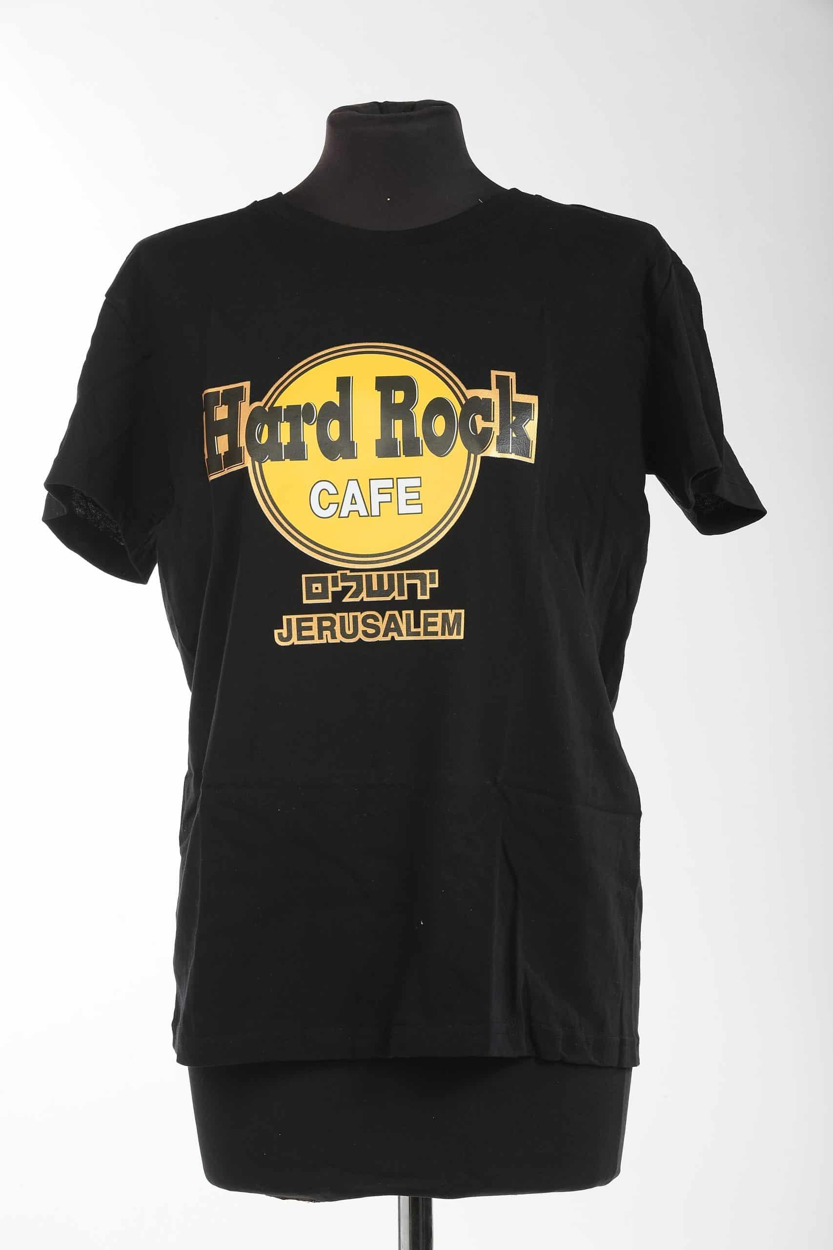 Holy Land T Shirts - Hard Rock Cafe Jerusalem (S-XXL)