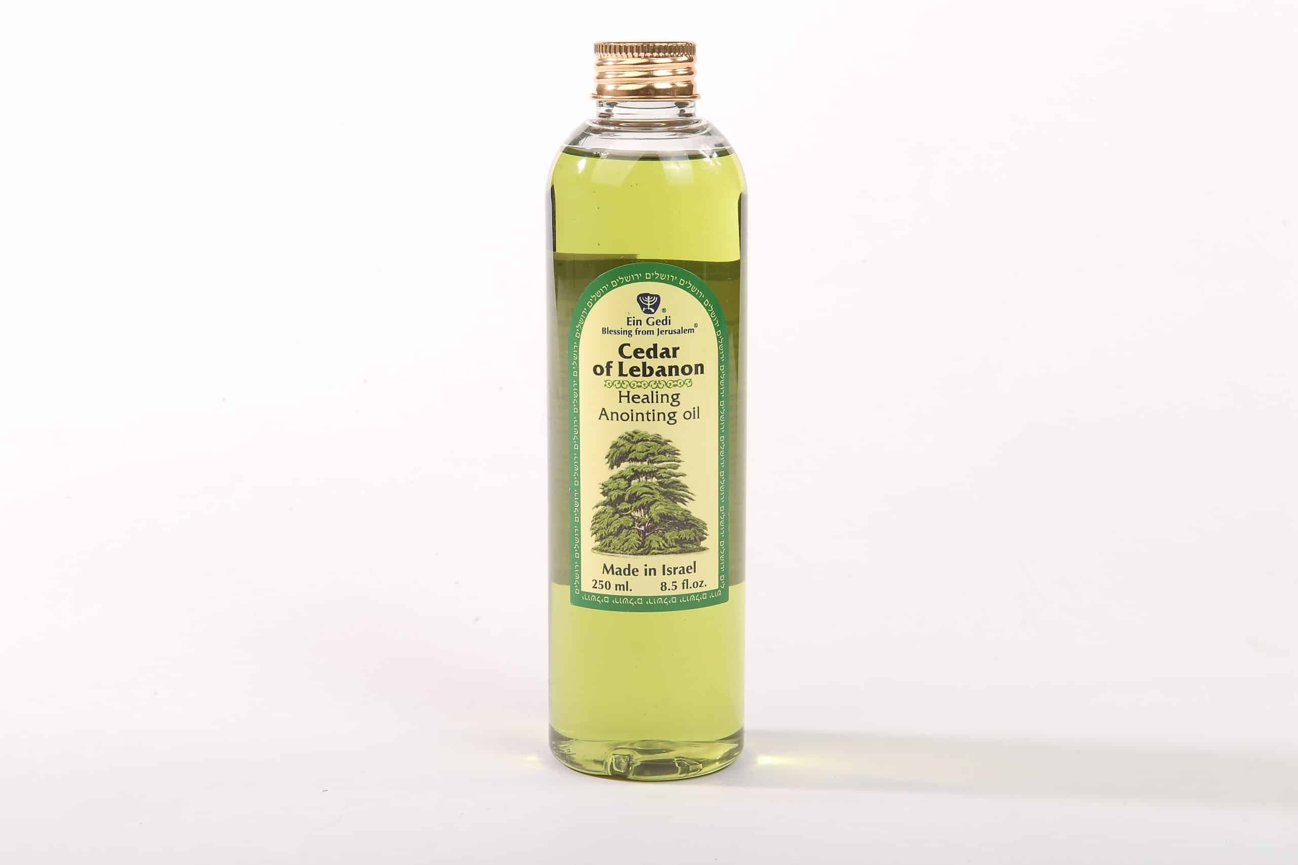 Cedar of Lebanon Anointing Oil - Healing - Made in Israel - 250ml