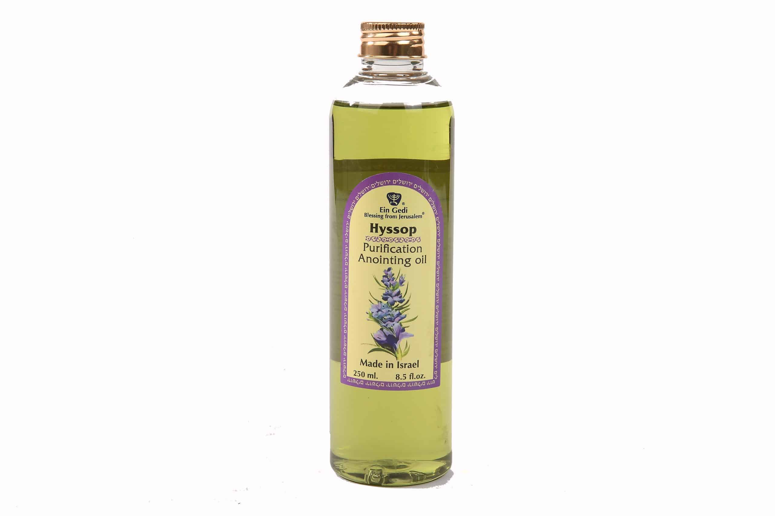 Hyssop Anointing Oil - Spiritual Purification - 250ml