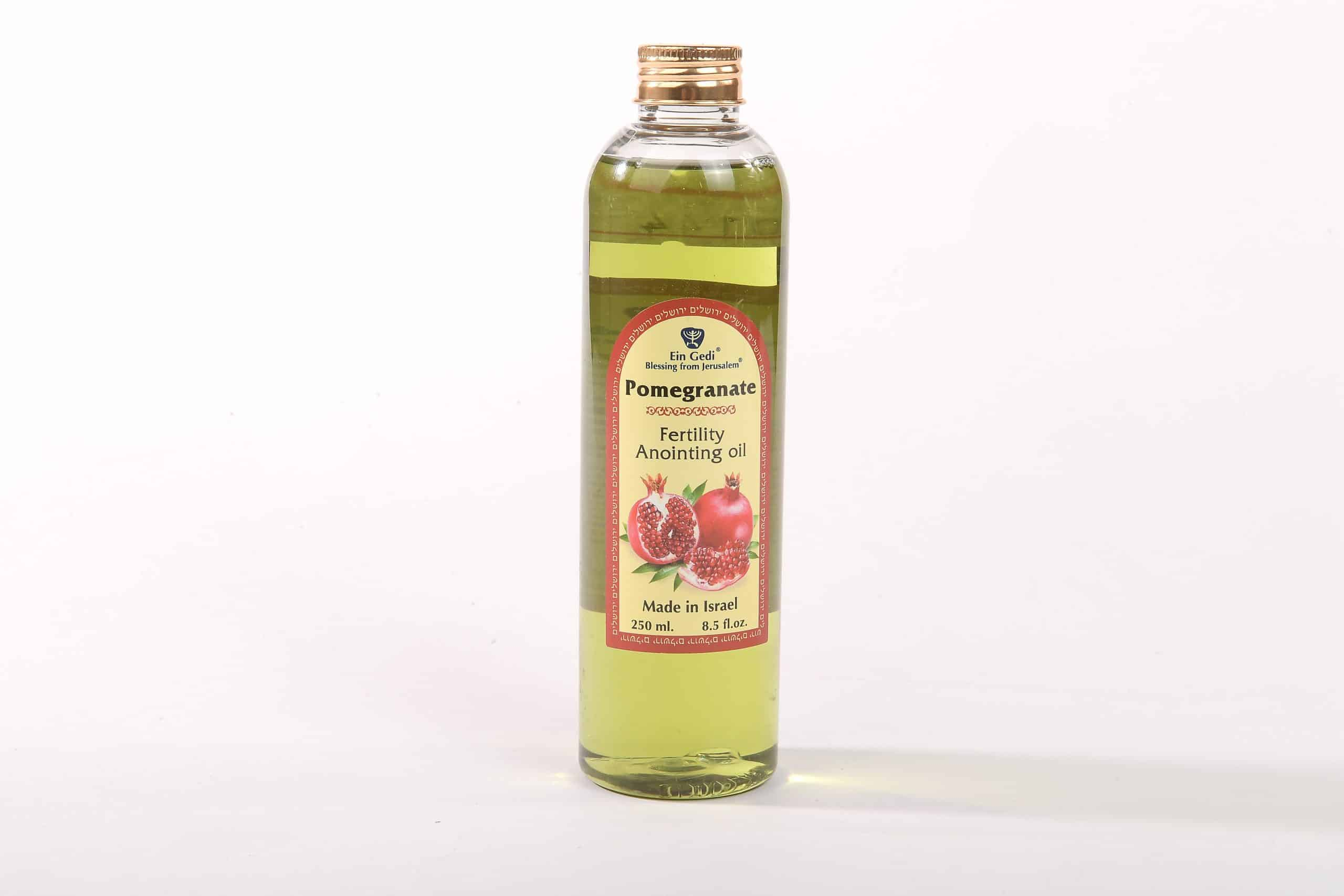 Pomegranate Anointing Oil - Fertility - Made in Israel - 250ml