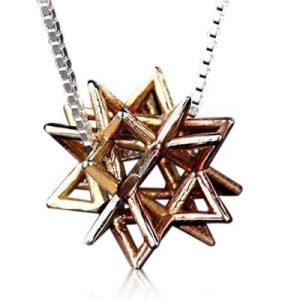 Collar Kabbalah Merkabah por HaAri