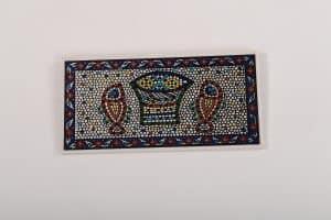 Armenian Ceramic Tabgha Mosaic Decorative Tile