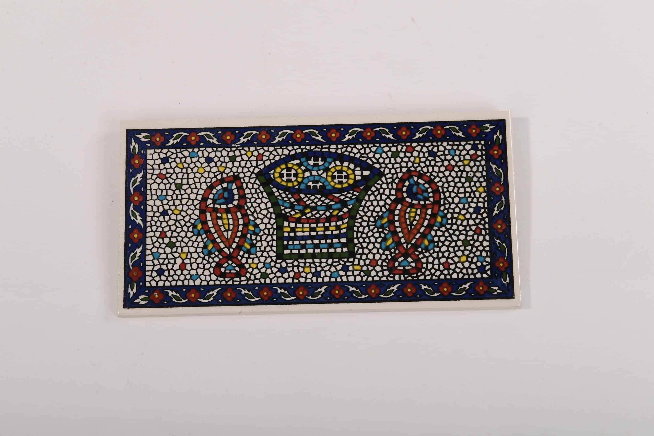 Armenian Ceramic Tabgha Mosaic Decorative Tile