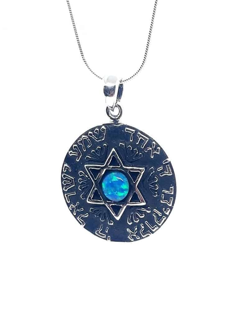 925 Sterling Kabbalah Jewelry Star Of David Pendant with