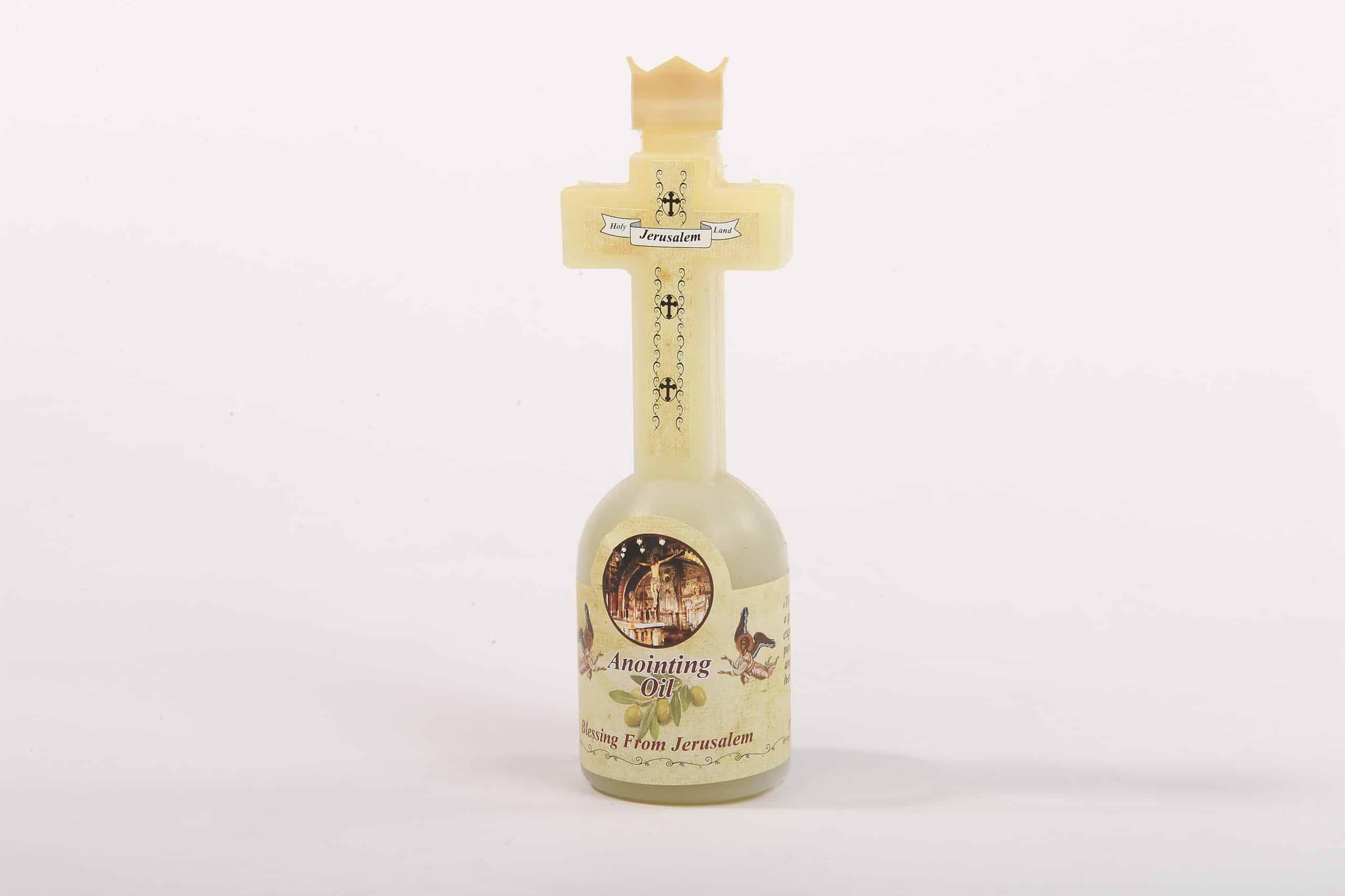 Anointing oil Jerusalem olive