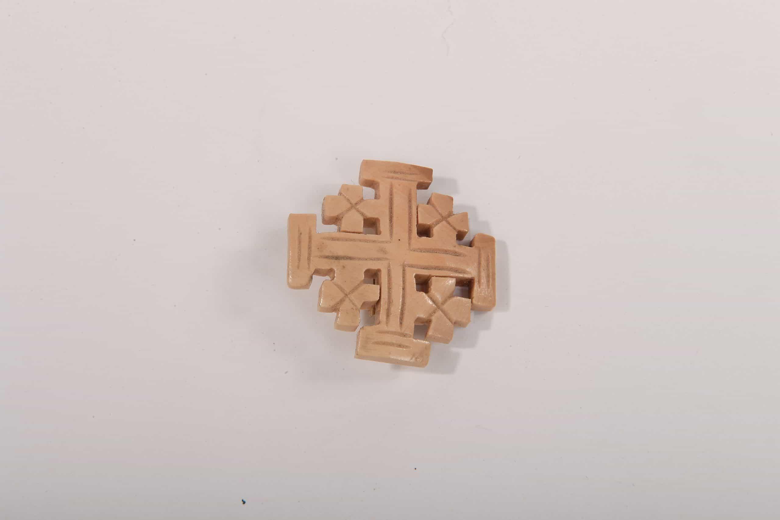 Jerusalem Cross Pin