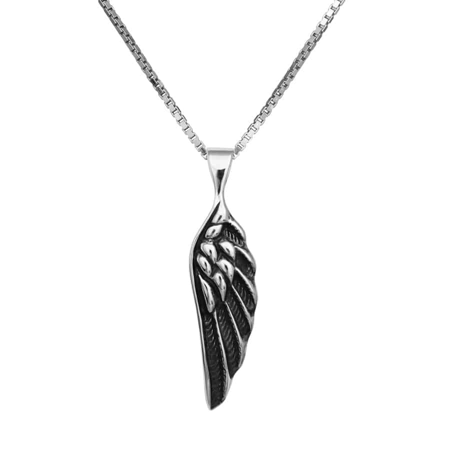 ANGLE WING small +Chain (925)