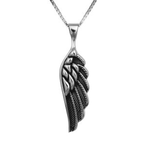 ANGLE WING large +Chain (925)