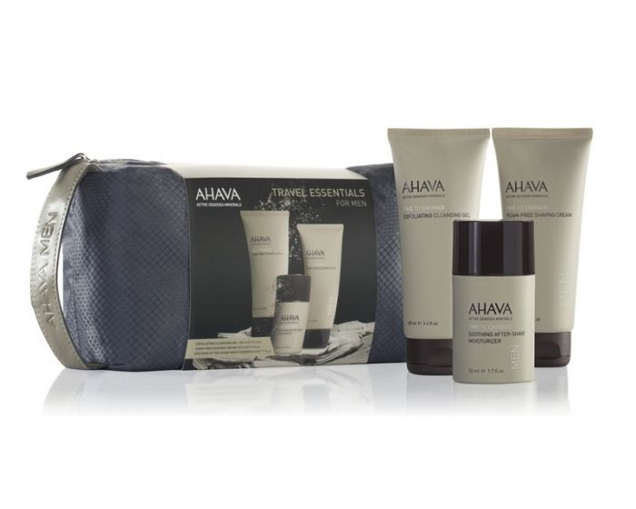 MEN SHAVING TRAVEL KIT