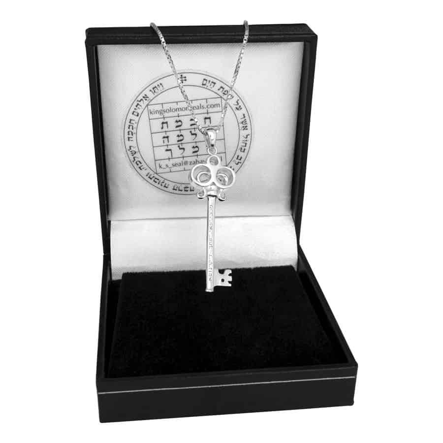 """Key of Livelihood"" Silver Pendant"